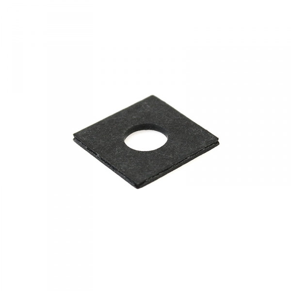 Square Fiber Coil Washer Black