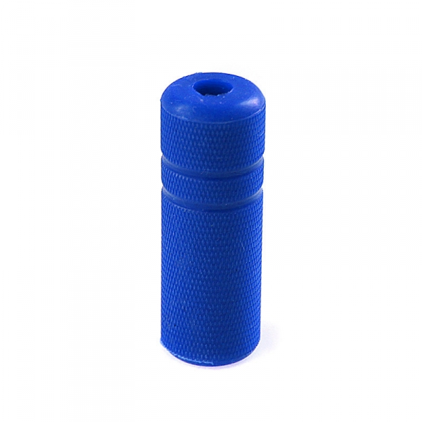 "Grip Cover Knurled - 1/2"" blue"