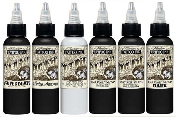 Nocturnal Ink - Full Set 60 ml