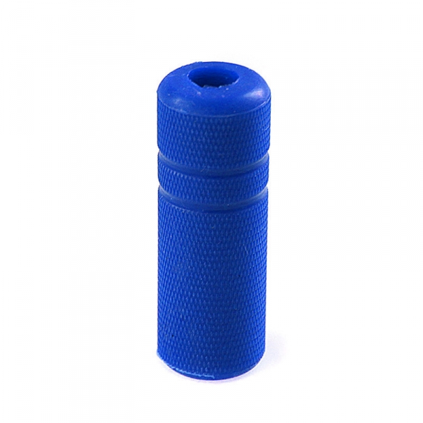 "Grip Cover Knurled - 3/4"" blue"