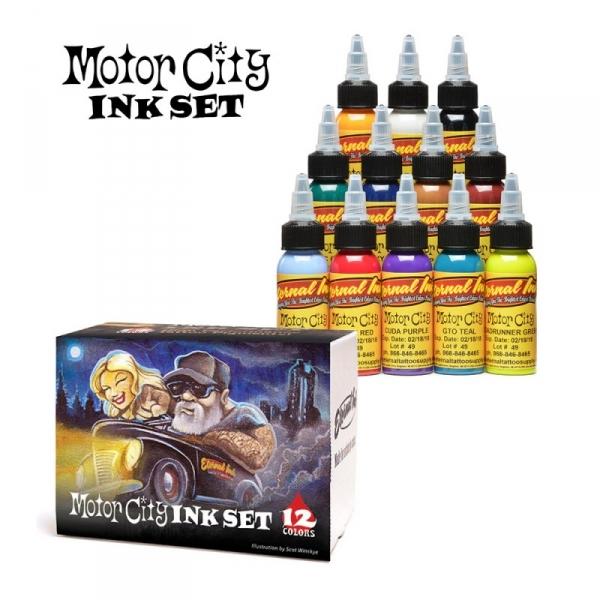 Motor City Ink Set - 12 Farbtöne 30 ml