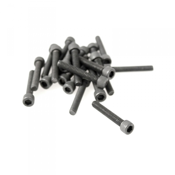"Black Socket Head Screws - 8/32"" x 1"""