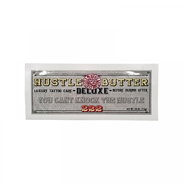 Hustle Butter Deluxe® Packette Organic Tattoo Care 7.5ml