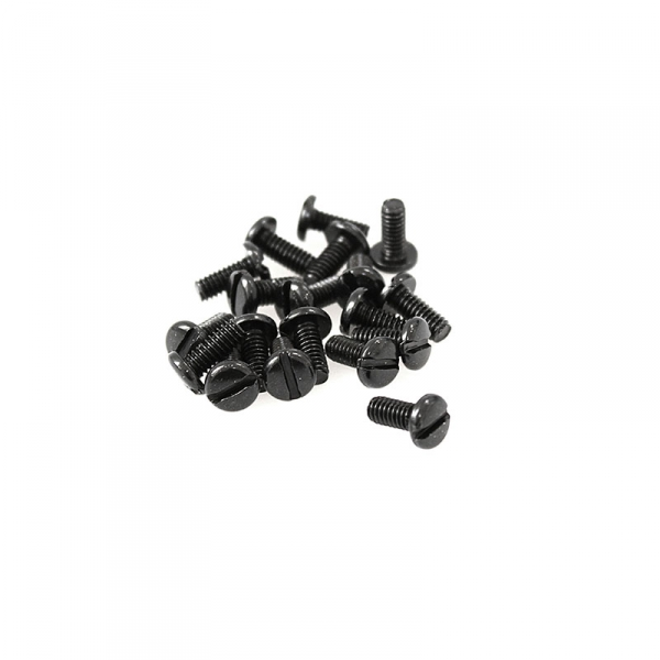 "Black Pan Head Screws - 8/32"" x 3/8"""