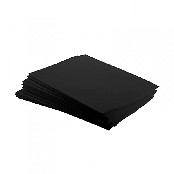 Arbeitsplatzunterlage - 500 Stück, schwarz, 33 x 45 cm