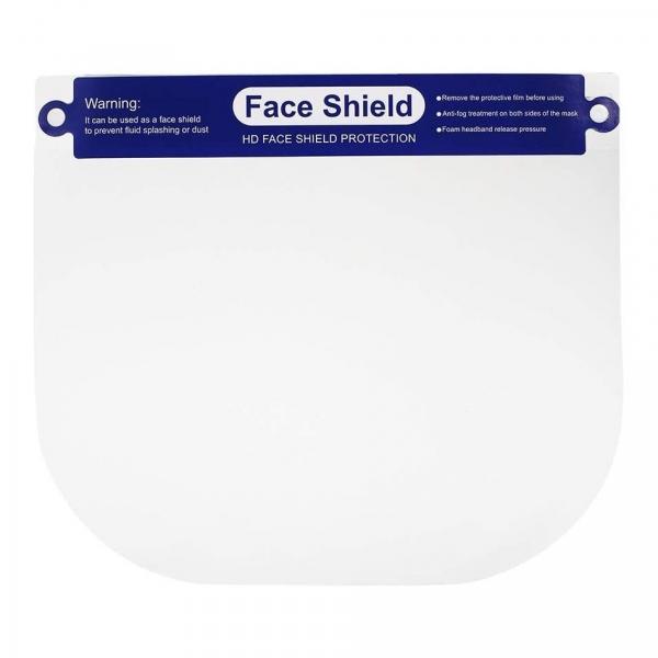 Gesichtsschutz aus Kunststoff