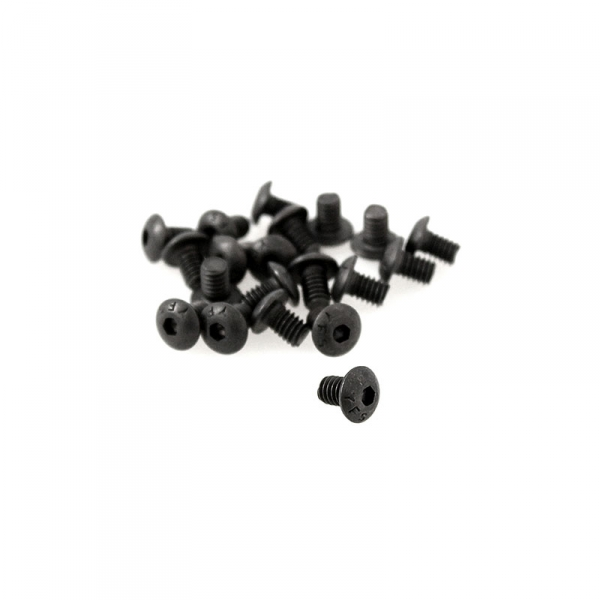Black Button Head Allen Screws - 8/32 x 1/4""