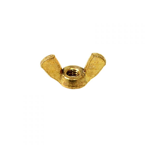 Brass Wing Nuts 8/32""