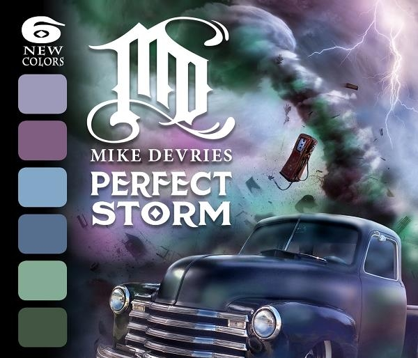 Mike DeVries Pefect Storm Set - 6 Farbtöne 15 ml