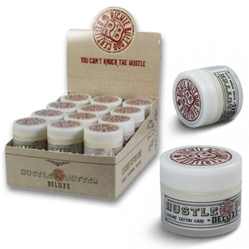 "Hustle Butter Deluxe® Tub ""The Ones"" Organic Tattoo Care 30ml"