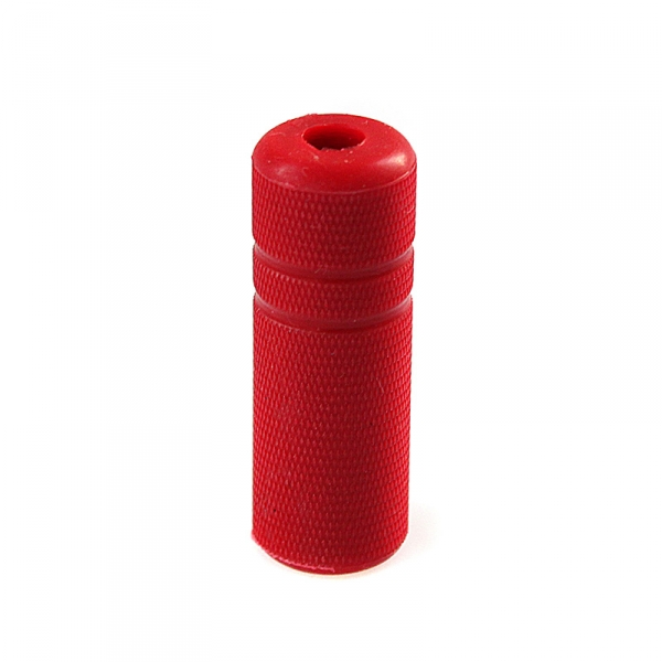 "Grip Cover Knurled - 1/2"" red"