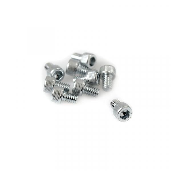 "Zinc Plated Socket Head Allen Screws - 8/32"" x 1/4"""