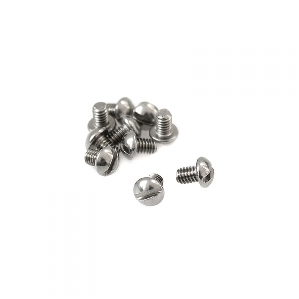 """Stainless Round Head Slotted Screws - 8/32"""" x 1/4"""""""