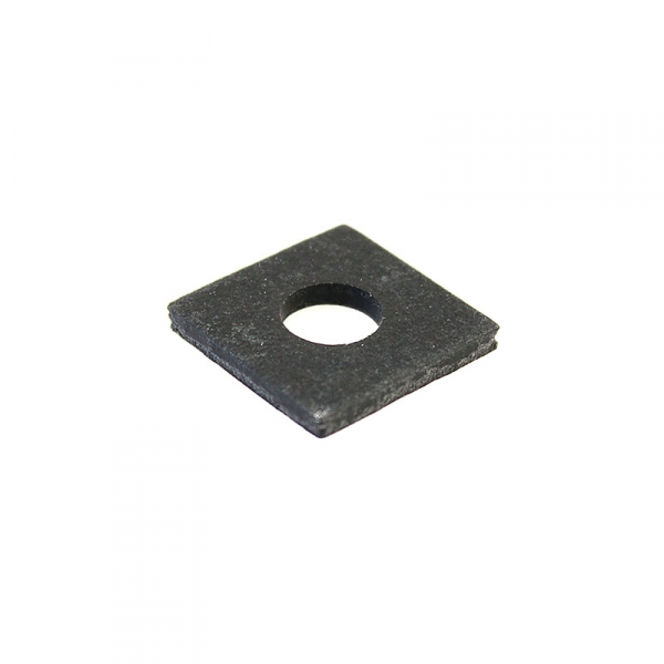 Thick Square Fiber Coil Washer Black