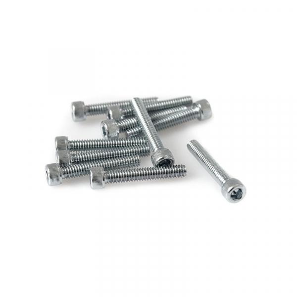 "Zinc Plated Socket Head Allen Screws - 8/32"" x 1"""