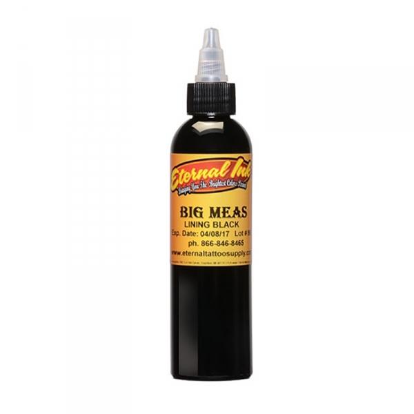 Eternal Ink BIG MEAS Lining Black 120 ml