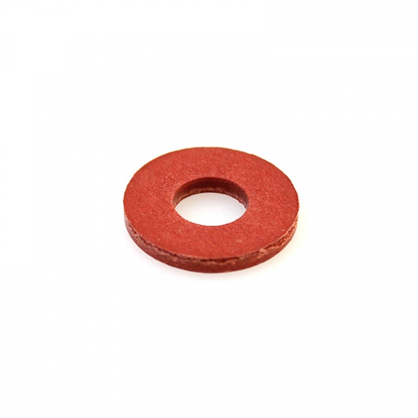 Thick Fiber Coil Washer Red