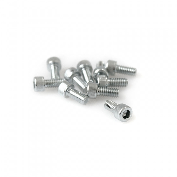 "Zinc Plated Socket Head Allen Screws - 8/32"" x 3/8"""