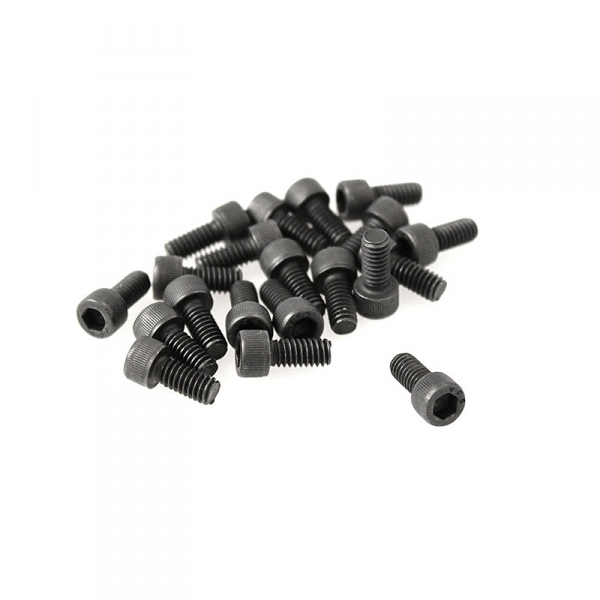 "Black Socket Head Screws - 8/32"" x 3/8"""