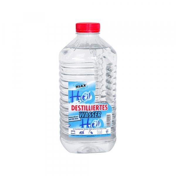 Klax Destilliertes Wasser 2L