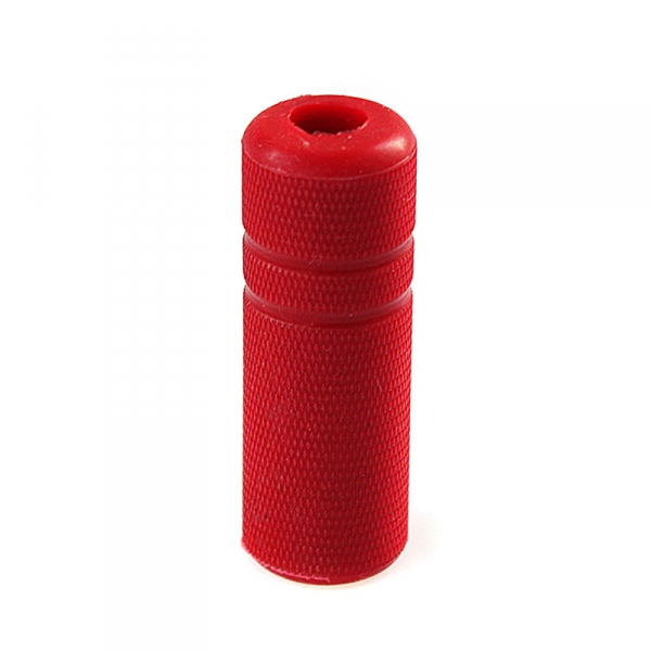 "Grip Cover Knurled - 3/4"" red"
