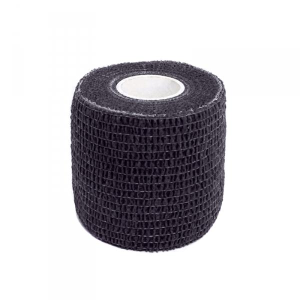 Griff Bandage - schwarz, elastisch, 5 cm x 4,5 m