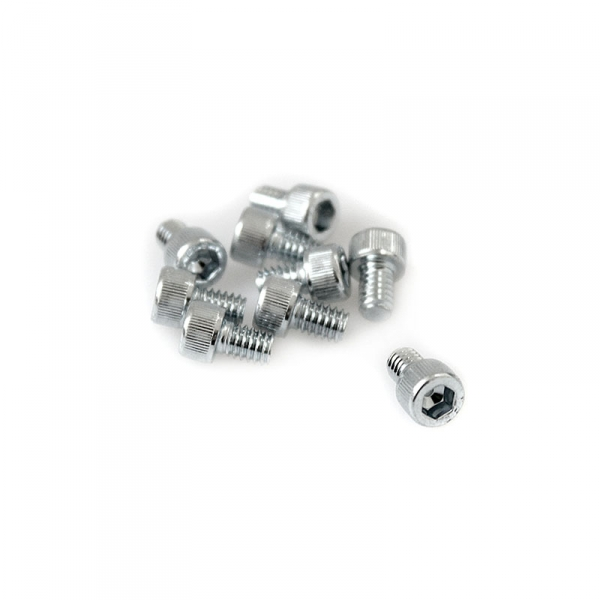 "Zinc Plated Socket Head Allen Screws - 8/32"" x 1/4"""