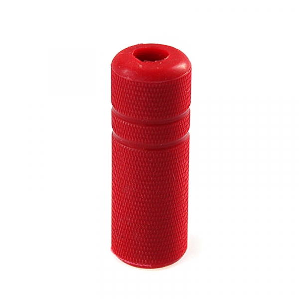 """GripCoverKnurled-3/4"""" red"""