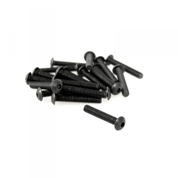Black Button Head Allen Screws - 8/32 x 1""