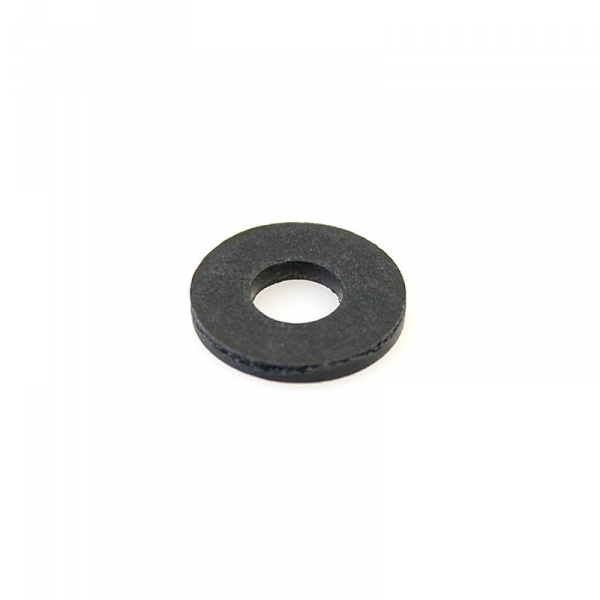 Thick Fiber Coil Washer Black