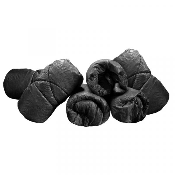 Spannbezüge, schwarz - 10 Stück