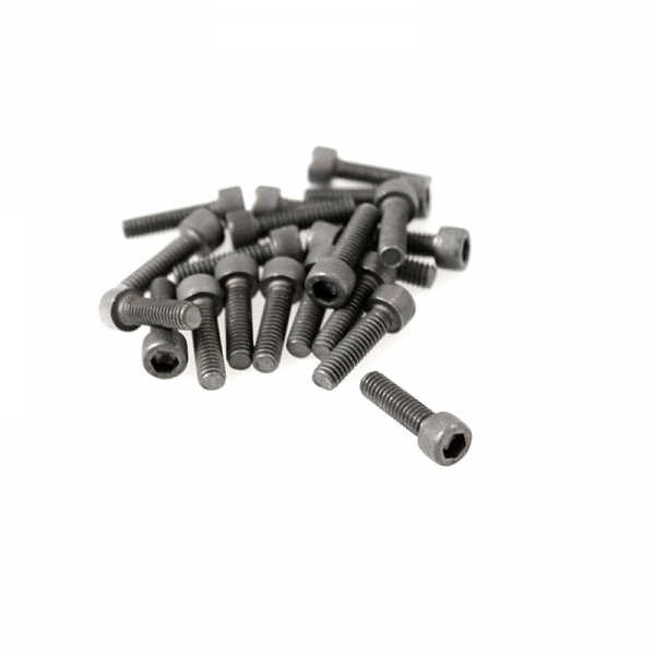 "Black Socket Head Screws - 8/32"" x 5/8"""