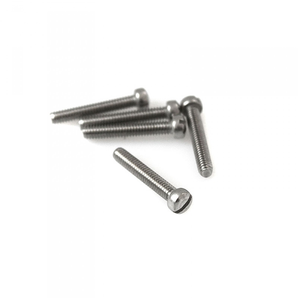 "Stainless Fillister Head Screws - 8/32"" x 1"""