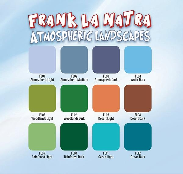 Frank La Natra Atmospheric Landscapes - 12 Farbtöne 30 ml