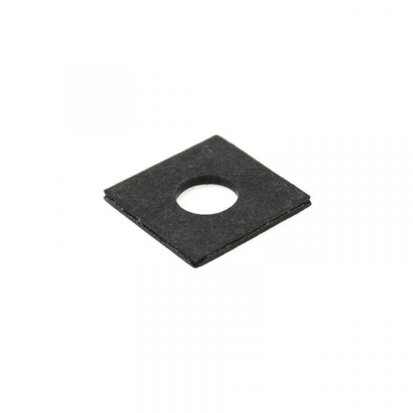 Square Fiber Coil Washer Black