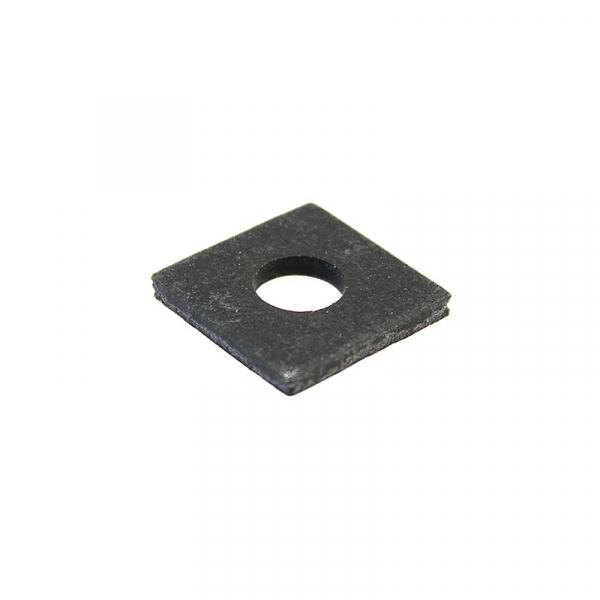 Thick Square Fiber Coil Washer Black