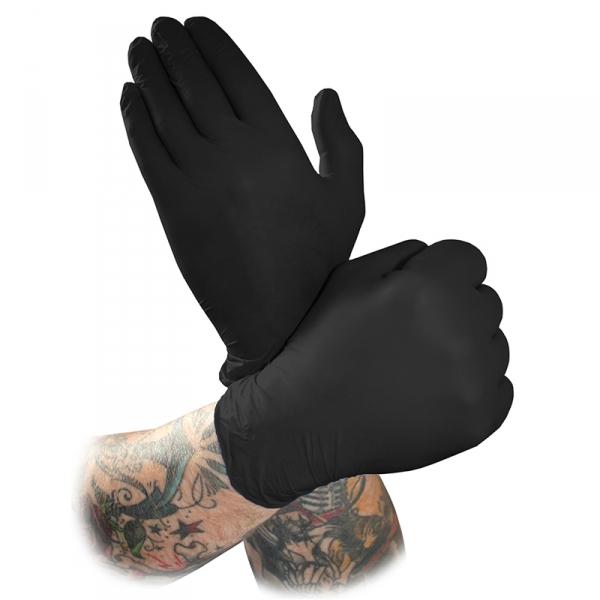 BLACK MAMBA Latexhandschuhe S