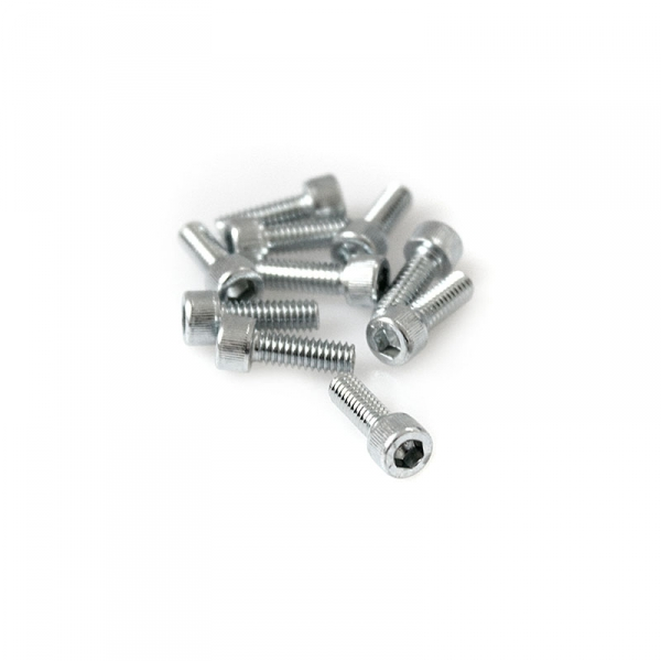 "Zinc Plated Socket Head Allen Screws - 8/32"" x 1/2"""