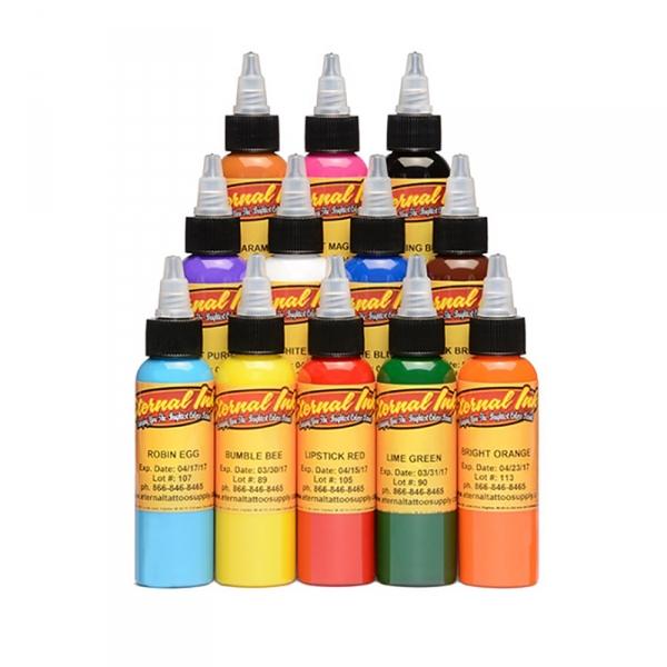 Eternal Ink Sample Set - 12 Farbtöne 15 ml