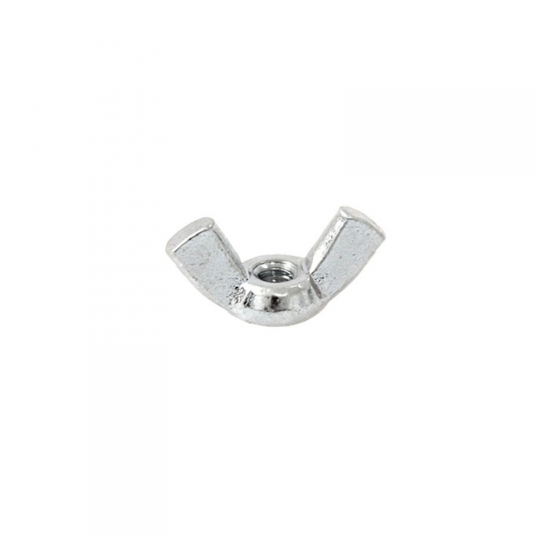 Zinc Plated Wing Nut 6/32""