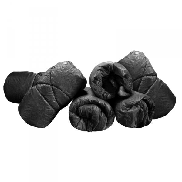 Spannbezüge, schwarz -100 Stück