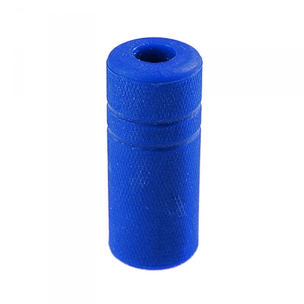 "Grip Cover Knurled - 5/8"" blue"